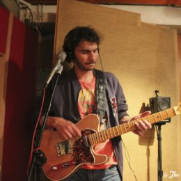 Yellow Dogs - enregistrement au Studio Prisme - Lausanne